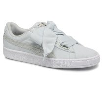 Basket Heart Canvas Wn's Sneaker in blau