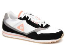 Louise Suede Sneaker in weiß