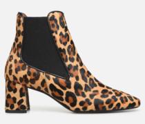 Retro Dandy Boots #2 Stiefeletten & in braun