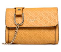 Coast to Status Mini Crossbody Flap Handtasche in gelb