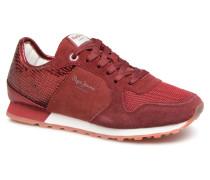 VERONA W NEW SEQUINS 2 Sneaker in weinrot