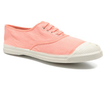 Tennis Mixprint Sneaker in rosa