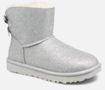 W Mini Bailey Bow Sparkle Stiefeletten & Boots in silber