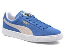 Suede Classic + Sneaker in blau