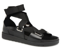 MARIELLA LEATHER SANDAL Sandalen in schwarz