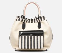 LG REVERSIBLE TOTE L Handtasche in weiß