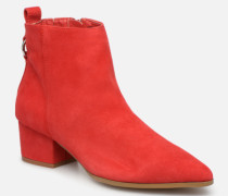 Clover Ankleboot Stiefeletten & Boots in rot