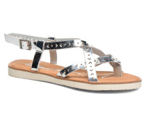 Poppy Sandalen in silber
