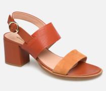 ISOCELE TALON Sandalen in orange