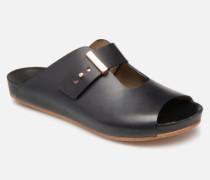 LAIREN S951 Clogs & Pantoletten in schwarz