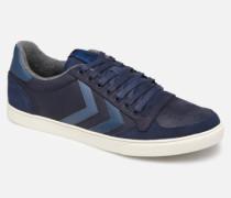 Slimmer Stadil Duo Oiled Low Sneaker in blau
