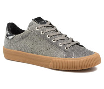 Deportivo Lurex Sneaker in silber