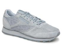 Classic Leather Lace Sneaker in grau