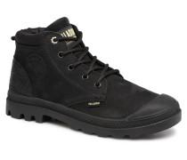 Low Cuff Lea W Stiefeletten & Boots in schwarz