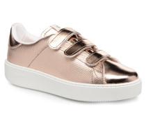 Deportivo Metalico Velcros Sneaker in rosa