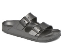 Arizona Cuir Soft Footbed Clogs & Pantoletten in grau