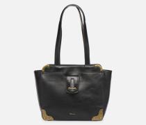 Mette Shoulder Bag Handtasche in schwarz