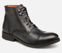 Dressy Leather Lace Up Boot Stiefeletten   Boots in schwarz. Tommy Hilfiger 6cfcd6a5c9