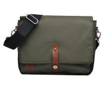 Messenger nylon Laptoptasche in grün