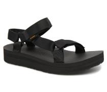 Midform Universal W Sandalen in schwarz