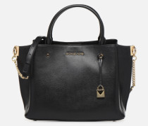 ARIELLE LG SATCHEL Handtasche in schwarz