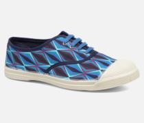 Tennis Losanges Sneaker in blau