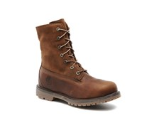 Authentics Teddy Fleece WP Fold Down Stiefeletten & Boots in braun