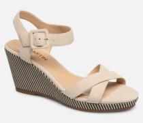 QUERIDA Sandalen in beige