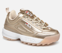 Disruptor M Low Wmn Sneaker in goldinbronze