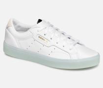 Adidas Sleek W Sneaker in weiß