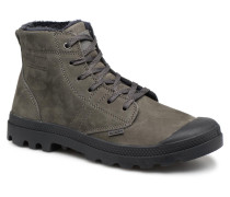 Pallabrousse Lth S M Stiefeletten & Boots in grau