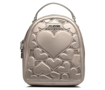 Sac à dos Metallic Love Rucksäcke für Taschen in silber