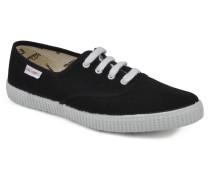 W Sneaker in schwarz
