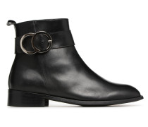 Busy Girl Bottines Plates #2 Stiefeletten & Boots in schwarz