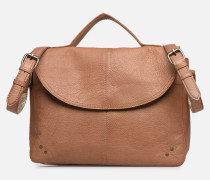 BETHANY LEATHER LARGE CROSSBODY Handtasche in braun