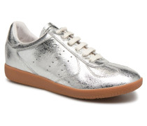 Li Lace up Sneaker in silber