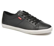 Levi's Woods Sneaker in schwarz