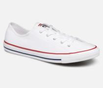 Chuck Taylor All Star Dainty Canvas Ox Sneaker in weiß