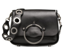 Ring Shoulder Bag Handtasche in schwarz