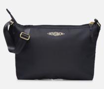 MAT & SHINY LINE MINI BAG Handtasche in blau