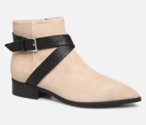 LINN BUCKLE S Stiefeletten & Boots in beige