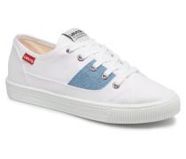 Levi's Malibu Lady Patch Sneaker in weiß