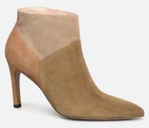 Forel 7 Low Zip Boot Stiefeletten & Boots in beige