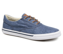 Striper II CVO Washed Sneaker in blau