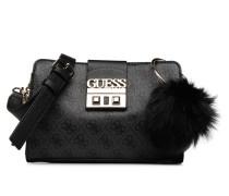 LOGO LUX CROSSBODY GIRLFRIEND Handtasche in schwarz