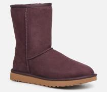 W Classic Short II Stiefeletten & Boots in weinrot