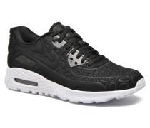 W Air Max 90 Ultra Plush Sneaker in schwarz
