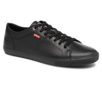 Levi's Woods 2 Sneaker in schwarz