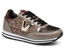 Deportivo Ciclista Glitter Sneaker in goldinbronze