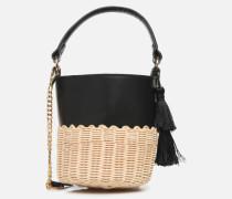 ACEILLE Handtasche in schwarz